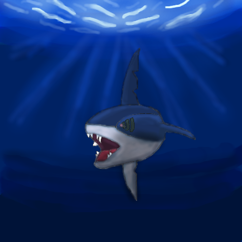 Galerie de zoruark - Sharpedo in the darksea